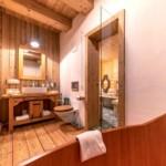 Mountain chalet bathroom 2