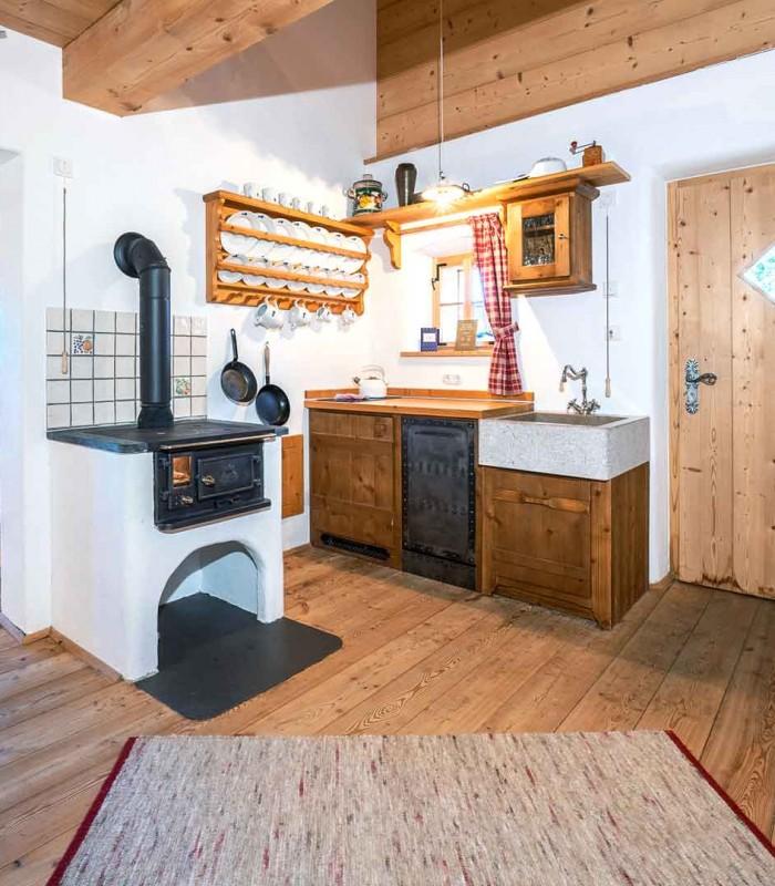 Bergchalet Küche 1