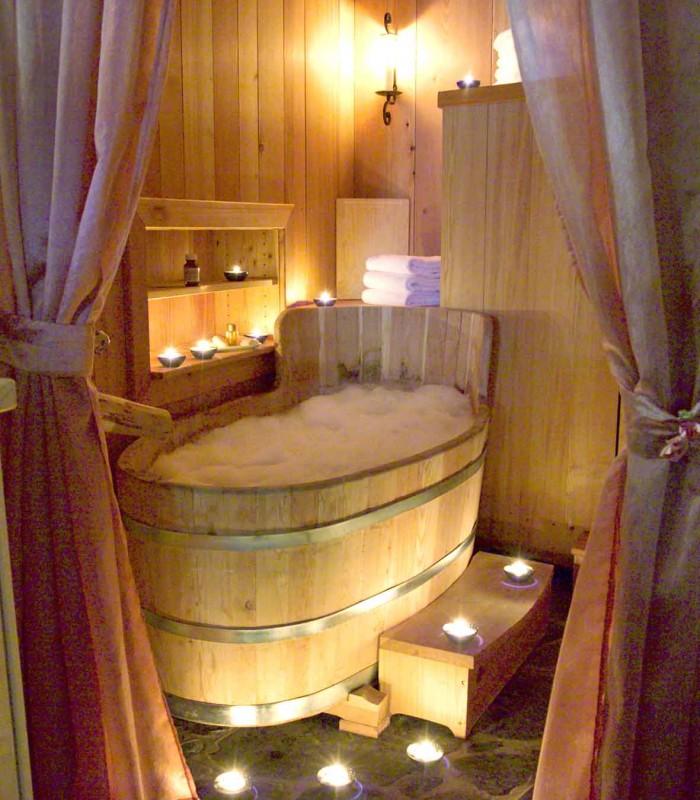 wooden bathtub 2