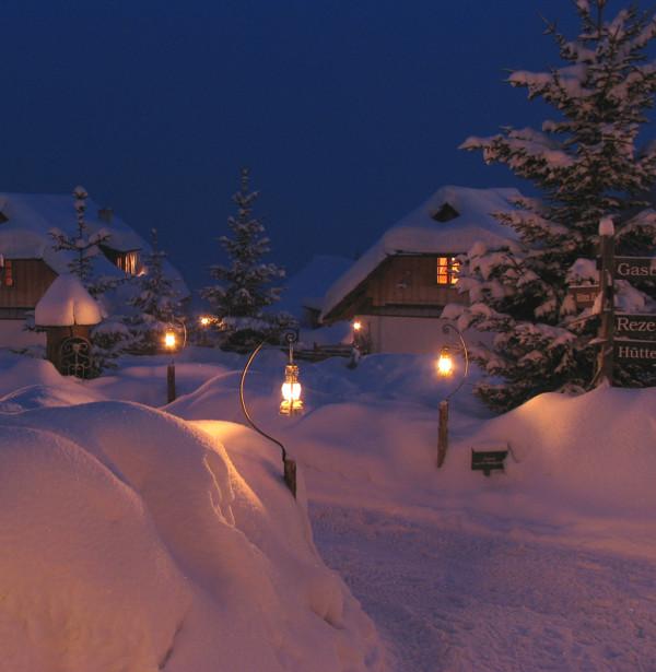 Winter Im Almdorf Seinerzeit 14621017539 O